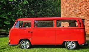 1970 Volkswagen Type 2 Early Bay Campervan Transportere
