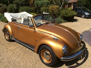 1972 Vw beetle Karmann convertible  1302ls 1600 RHD For Sale