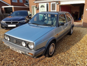 1989 VW Gold Driver, low mileage For Sale