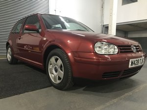 2000 Volkswagen Golf GTI - Just 35,358 miles  For Sale by Auction