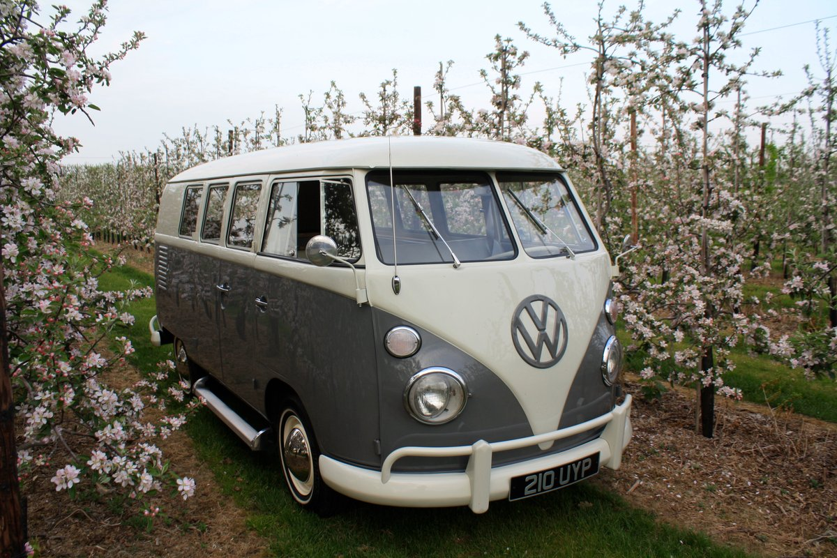 1962 VW Split Screen Camper Van. Genuine German Built Bus. For Sale (picture 2 of 6)