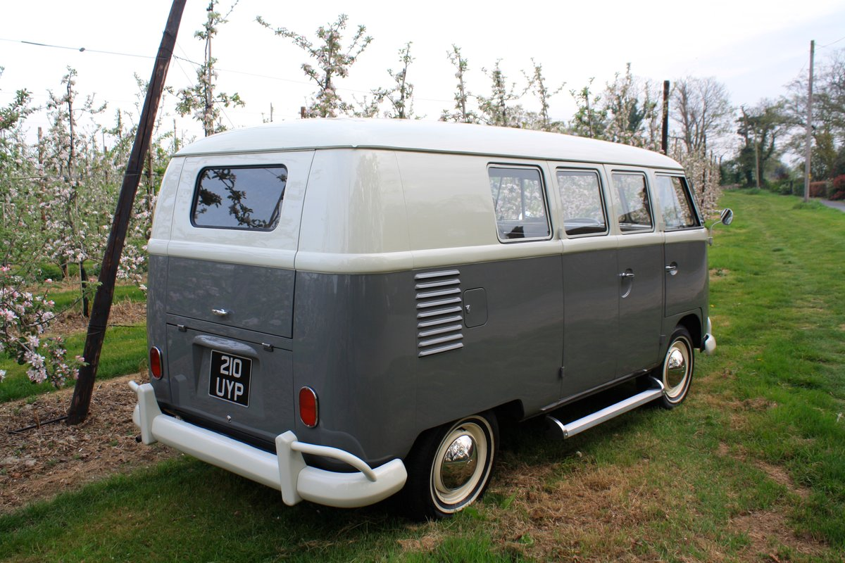 1962 VW Split Screen Camper Van. Genuine German Built Bus. For Sale (picture 3 of 6)