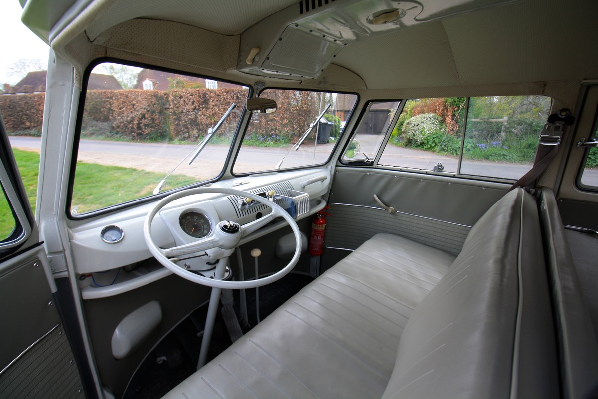 1962 VW Split Screen Camper Van. Genuine German Built Bus. For Sale (picture 4 of 6)