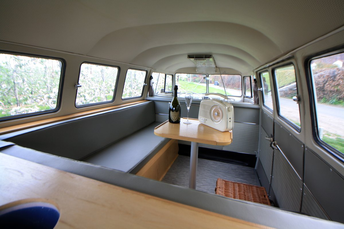 1962 VW Split Screen Camper Van. Genuine German Built Bus. For Sale (picture 6 of 6)
