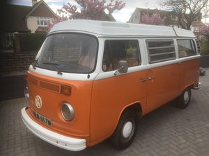 VW Westfalia 1973 Camper Van For Sale