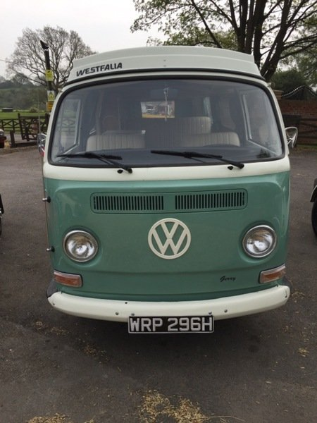 1970 VW WESTFALIA CAMPER VAN For Sale (picture 1 of 4)