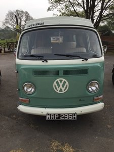 1970 VW WESTFALIA CAMPER VAN For Sale