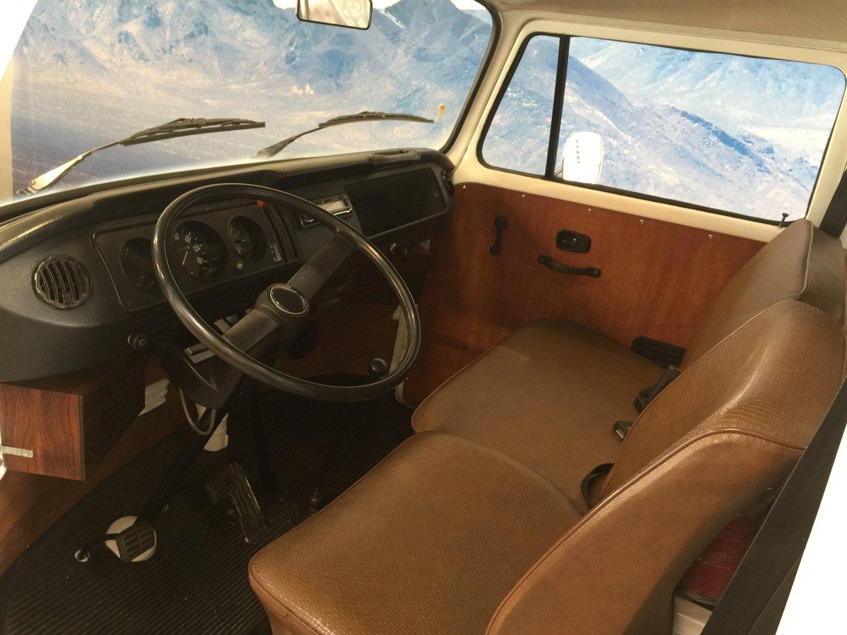 1977 Volkswagen T2 1.6 Camper Van For Sale (picture 3 of 6)