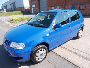 2000 VOLKSWAGEN POLO 6N2 1.4 MATCH LOW MILES TWO OWNERS For Sale