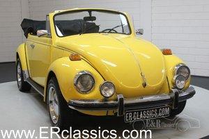 Volkswagen Beetle Cabriolet Yellow 1972 in very good conditi For Sale