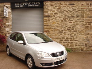 2006 06 VOLKSWAGEN POLO 1.2 S 3DR 30270 MILES ONE OWNER.