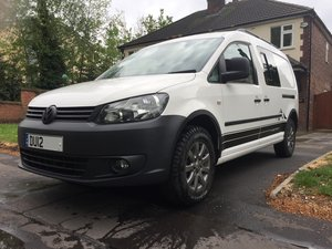 2012 VW Caddy 4 Motion 4x4 Overland Camper Van 1 owner For Sale