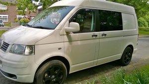 2008 vw t5 camper/day van. Medium top, low miles For Sale