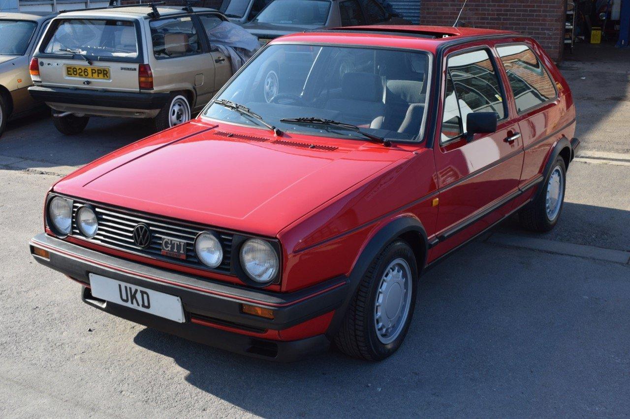 VW VOLKSWAGEN GOLF MK2 GTI 16V 3DR 1987 RED SOLD (picture 4 of 5)