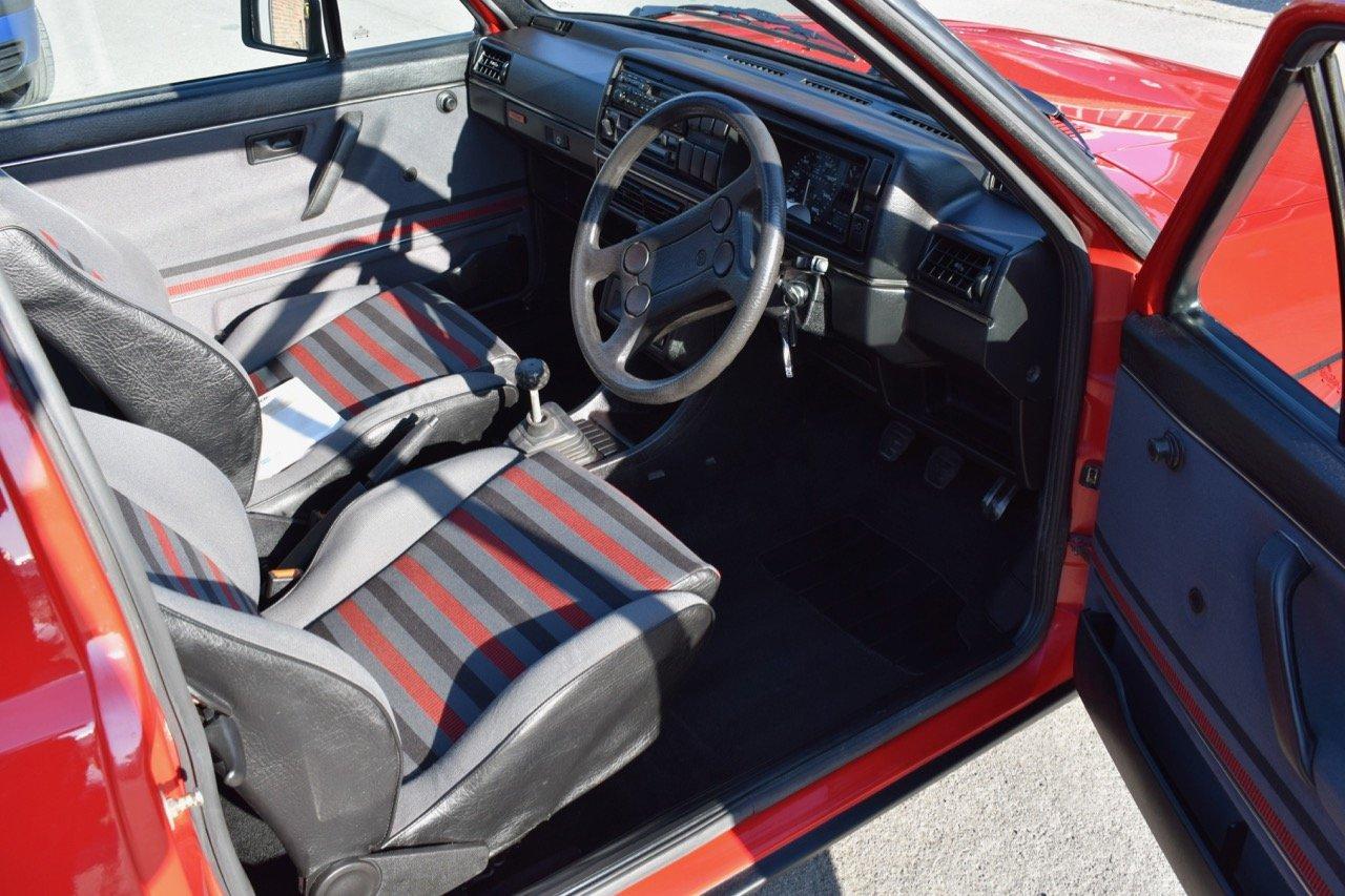VW VOLKSWAGEN GOLF MK2 GTI 16V 3DR 1987 RED SOLD (picture 5 of 5)