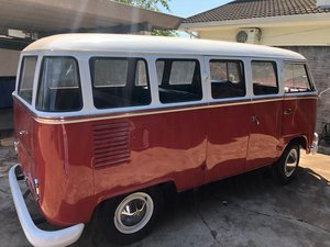 1968 Just restored VW T1 split window bus. SOLD