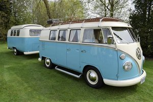 1960 VW Camper Split Screen Plus VW Dub Box! For Sale