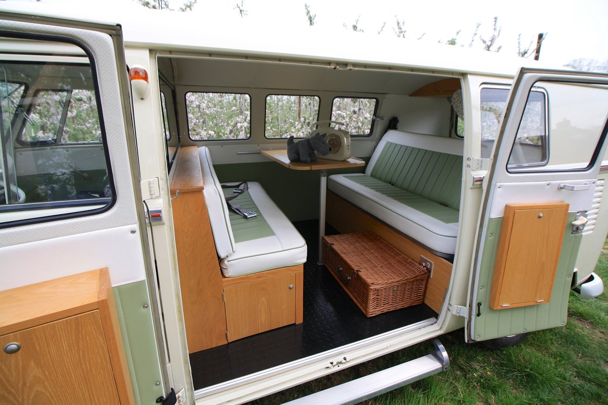 1965 VW Split Screen Camper Van. Stunning Example. For Sale (picture 4 of 6)