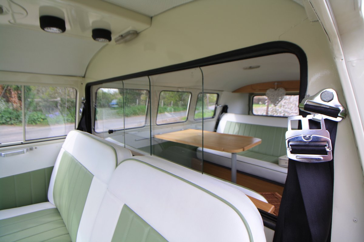 1965 VW Split Screen Camper Van. Stunning Example. For Sale (picture 5 of 6)