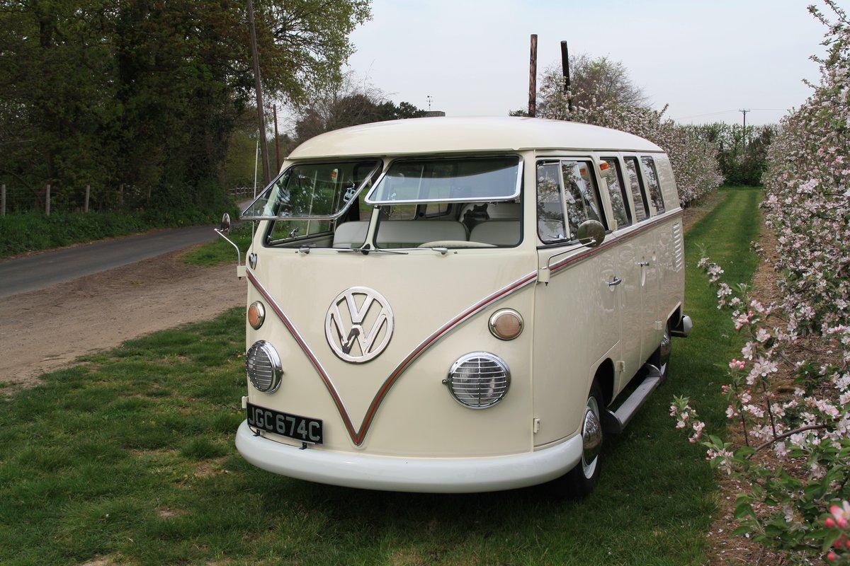 1965 Split Screen Camper Van. Stunning Restored Example. For Sale (picture 1 of 6)