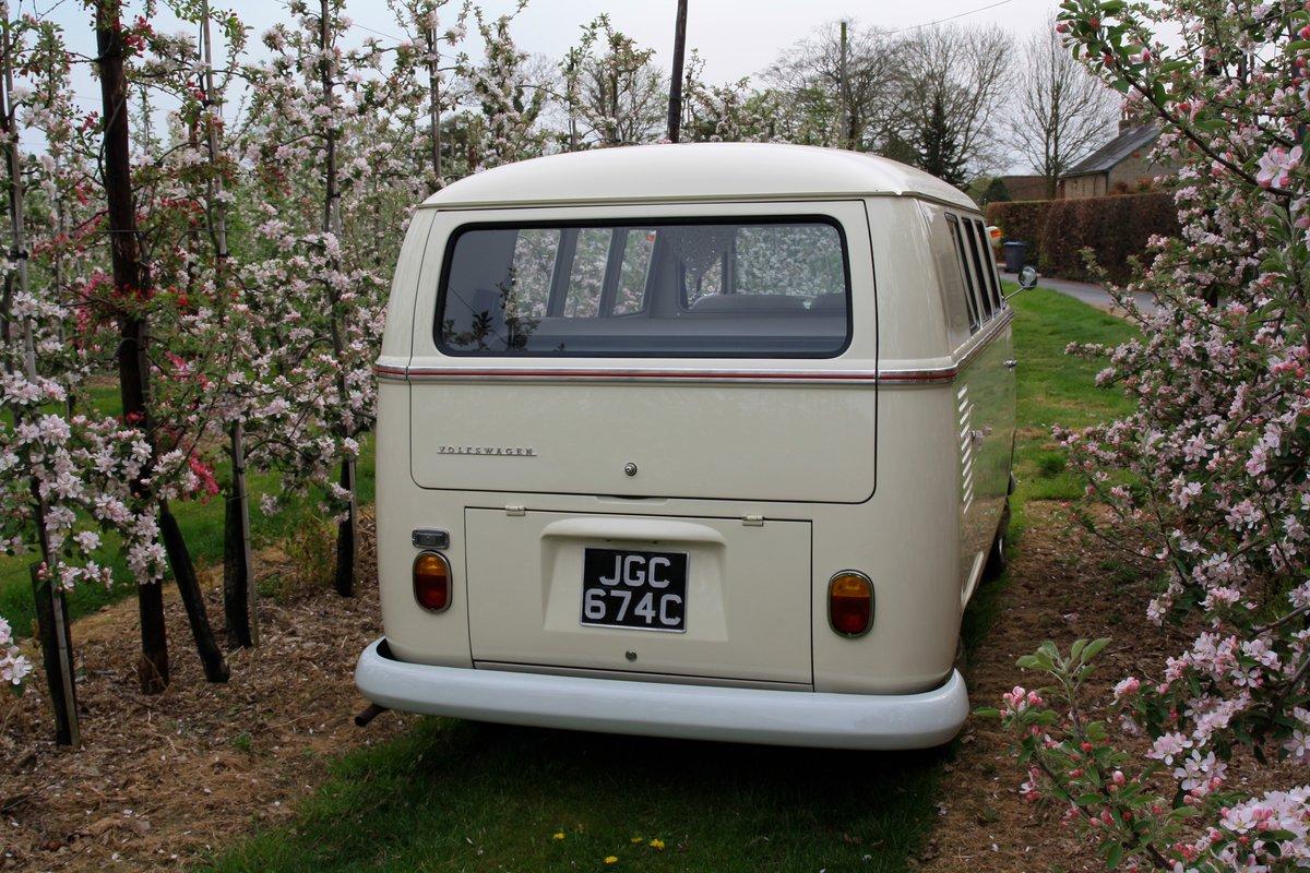 1965 Split Screen Camper Van. Stunning Restored Example. For Sale (picture 3 of 6)