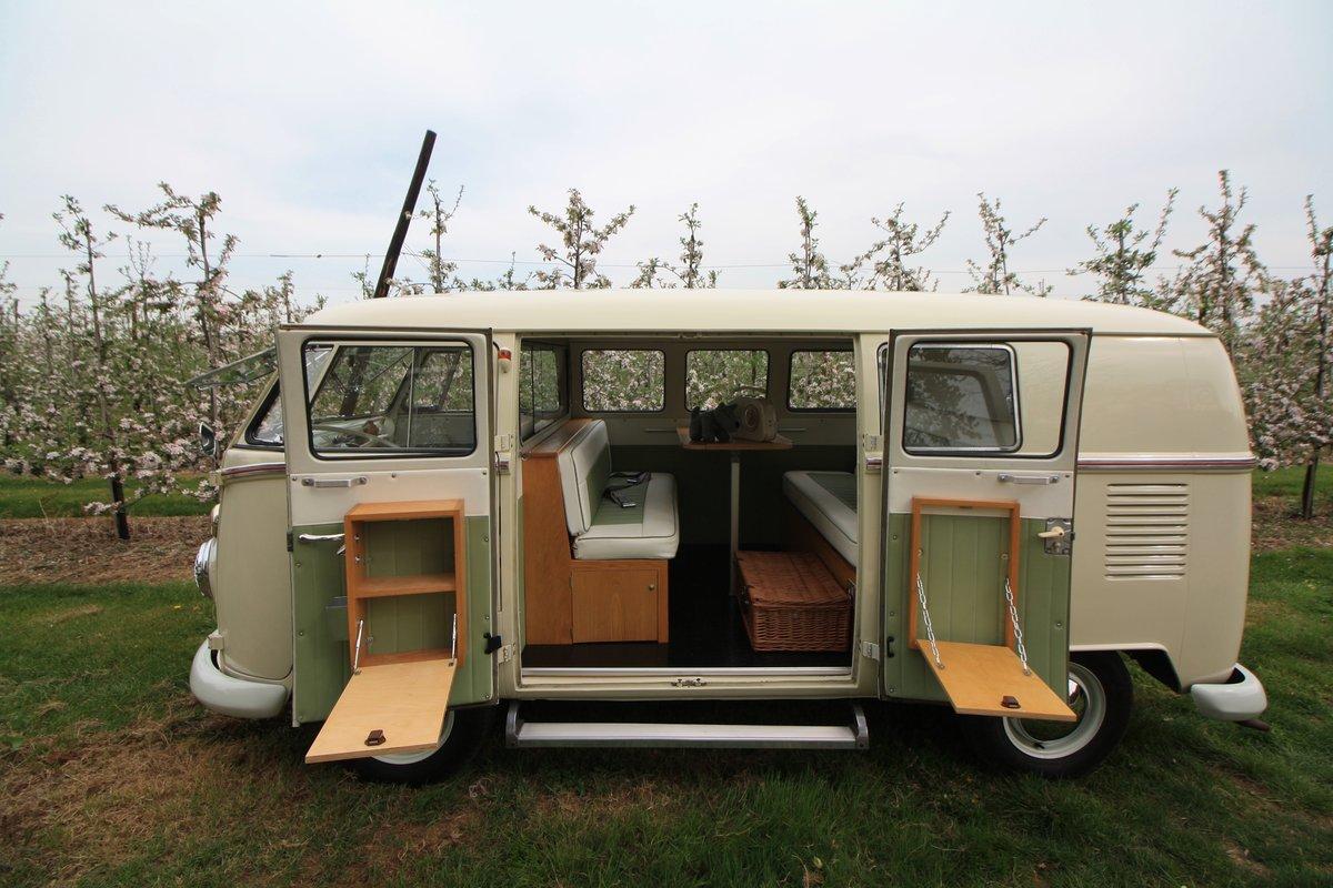 1965 Split Screen Camper Van. Stunning Restored Example. For Sale (picture 5 of 6)