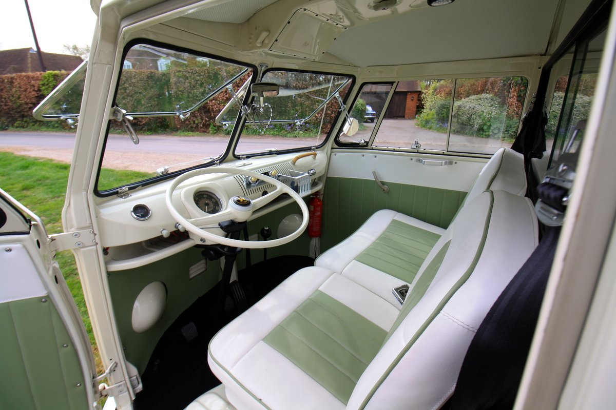 1965 Split Screen Camper Van. Stunning Restored Example. For Sale (picture 6 of 6)
