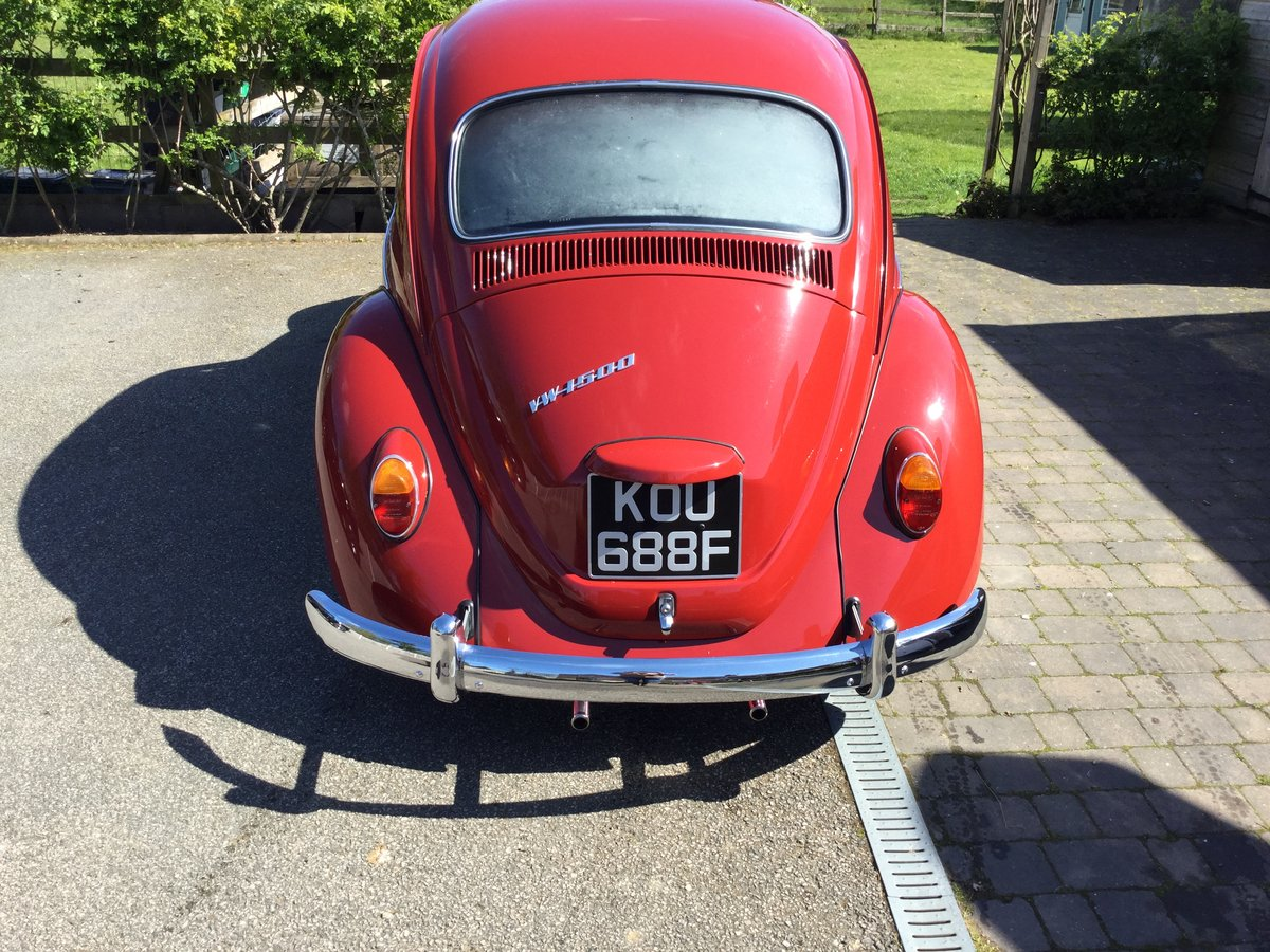 1967 (one year only) Beetle SOLD (picture 2 of 6)