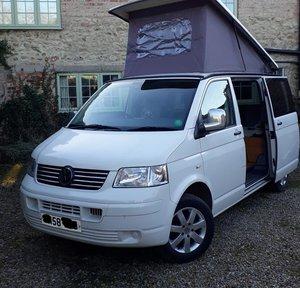 2008 VW T5 - 4 berth camper - T28 102TDI SWB For Sale