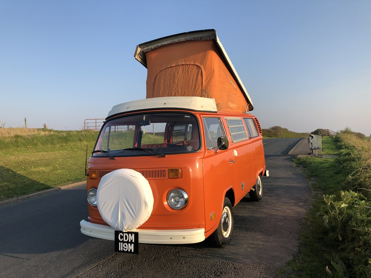 1974 VW T2 Bay Window Westfalia Automatic SOLD (picture 1 of 6)