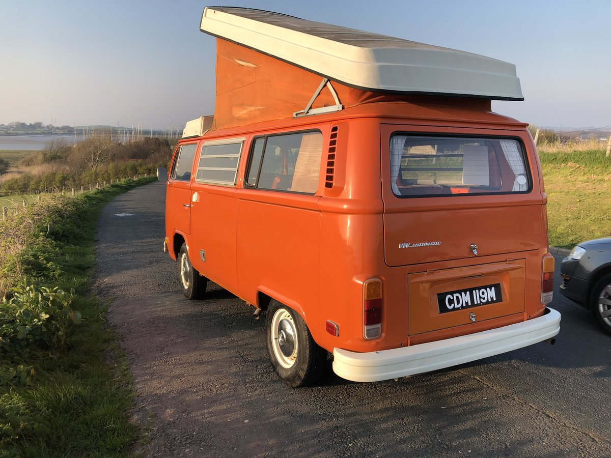 1974 VW T2 Bay Window Westfalia Automatic SOLD (picture 2 of 6)