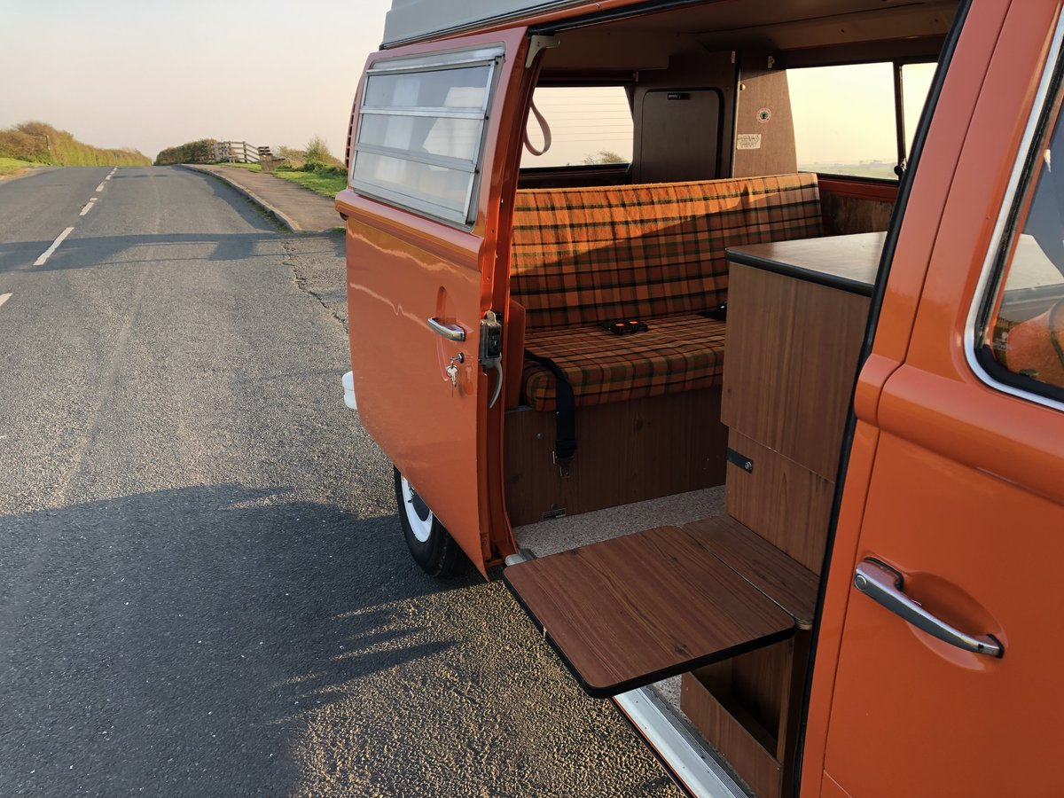 1974 VW T2 Bay Window Westfalia Automatic SOLD (picture 4 of 6)