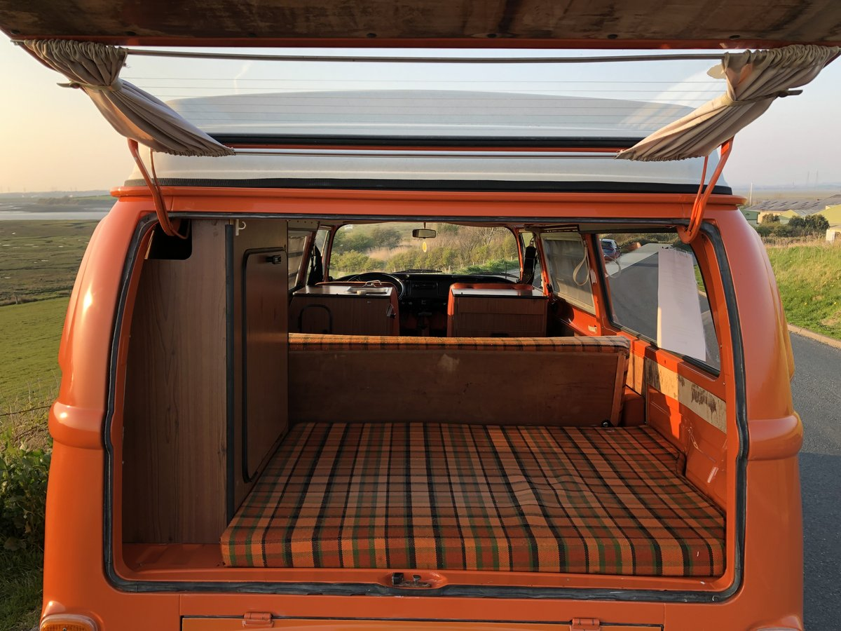 1974 VW T2 Bay Window Westfalia Automatic SOLD (picture 5 of 6)