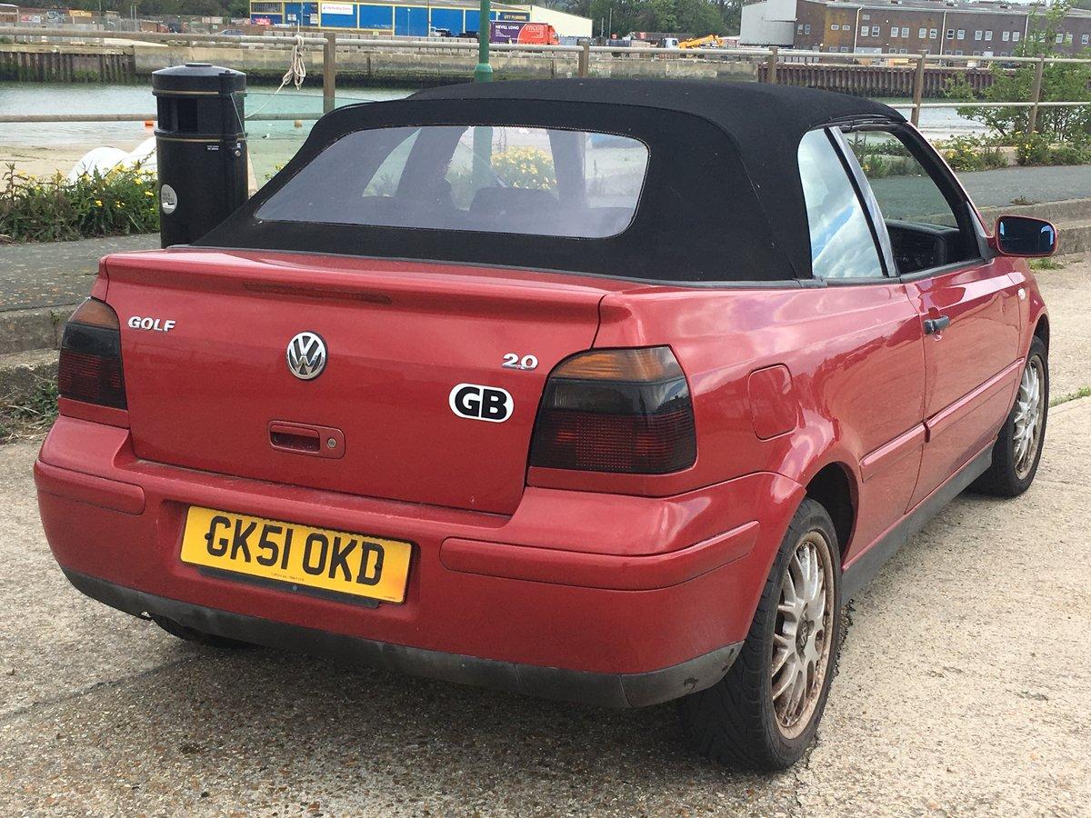 2001 Volkswagen Golf Convertible  SOLD (picture 6 of 6)