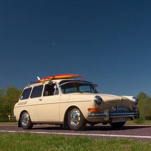 1971 Volkswagen Type 3 SquareBACK = Fun Surf Dude $11.9k For Sale