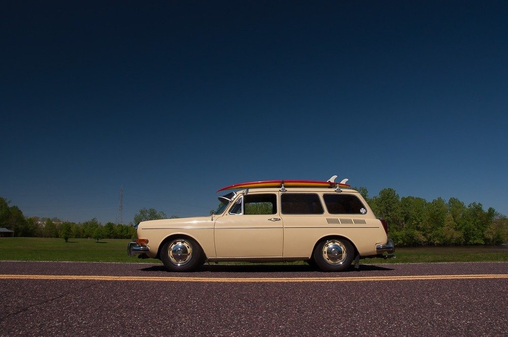 1971 Volkswagen Type 3 SquareBACK = Fun Surf Dude ! $obo For Sale (picture 3 of 5)