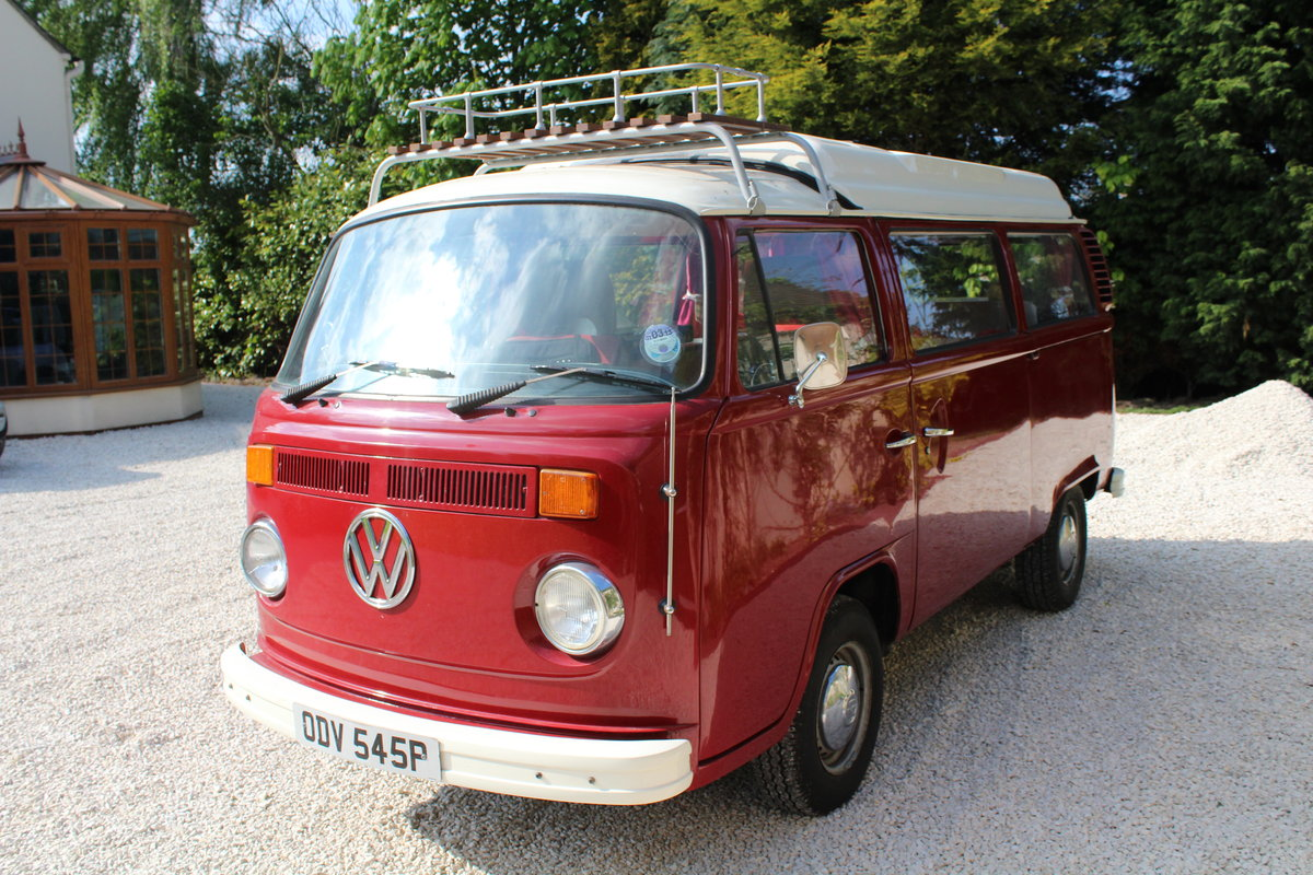 1976 VW Campervan Poptop RHD 2 litre For Sale (picture 1 of 6)