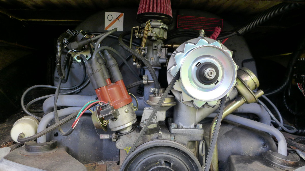 1974 Rebuilt engine and a lot of interesting details For Sale (picture 5 of 6)