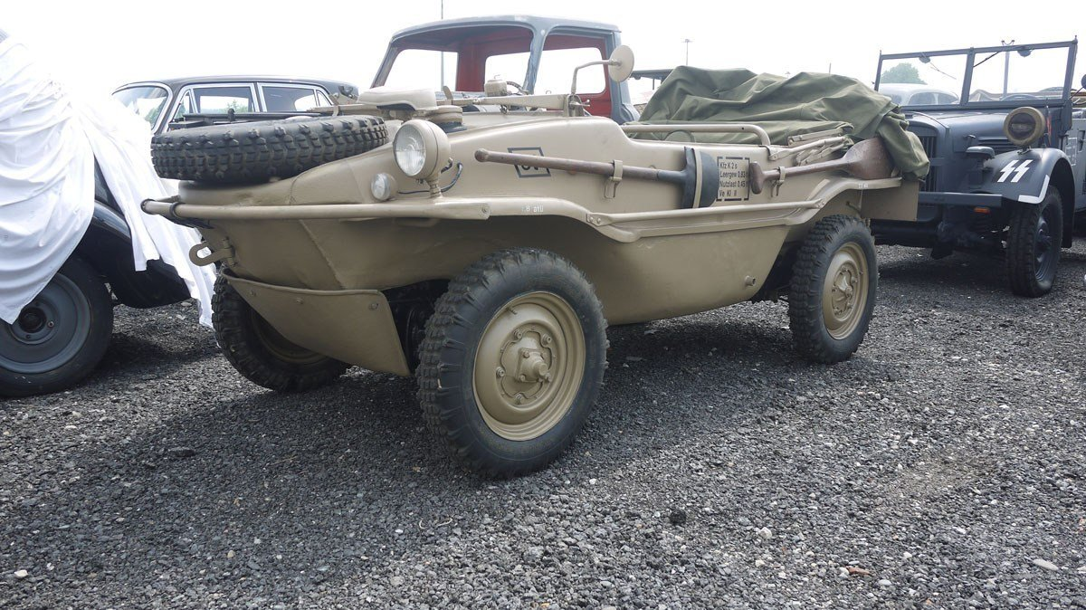 1943 Volkswagen Schwimmwagen For Sale by Auction (picture 1 of 6)