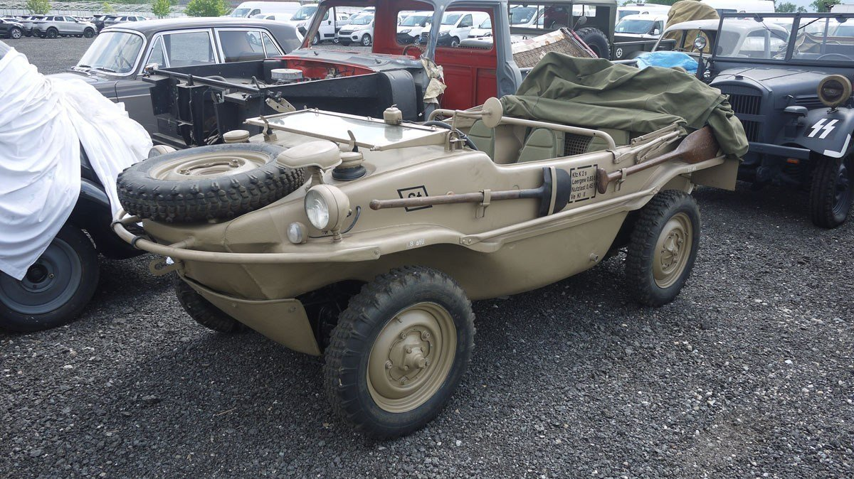 1943 Volkswagen Schwimmwagen For Sale by Auction (picture 3 of 6)