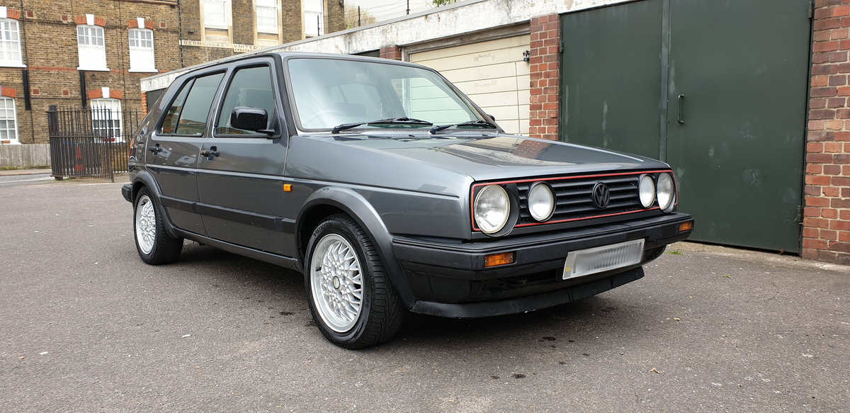 Volkswagen Golf Mk II Syncro 1989 RHD SOLD (picture 1 of 6)