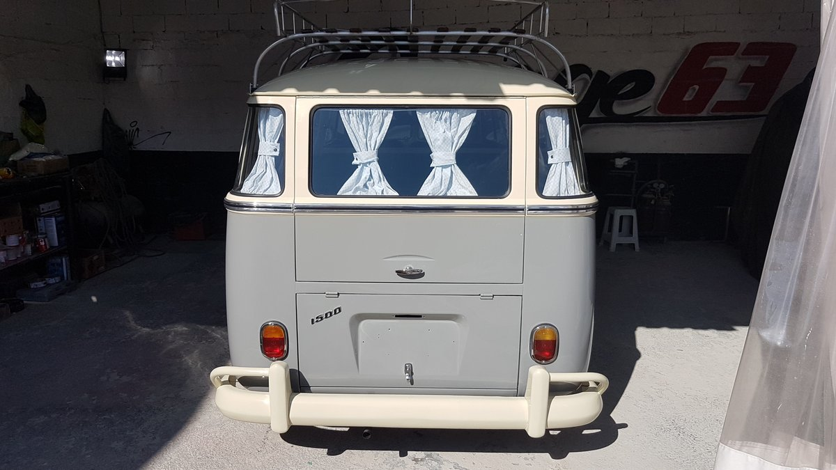 Volkswagen Splitscreen 23Window LHD 1968 Samba Rep For Sale (picture 2 of 5)