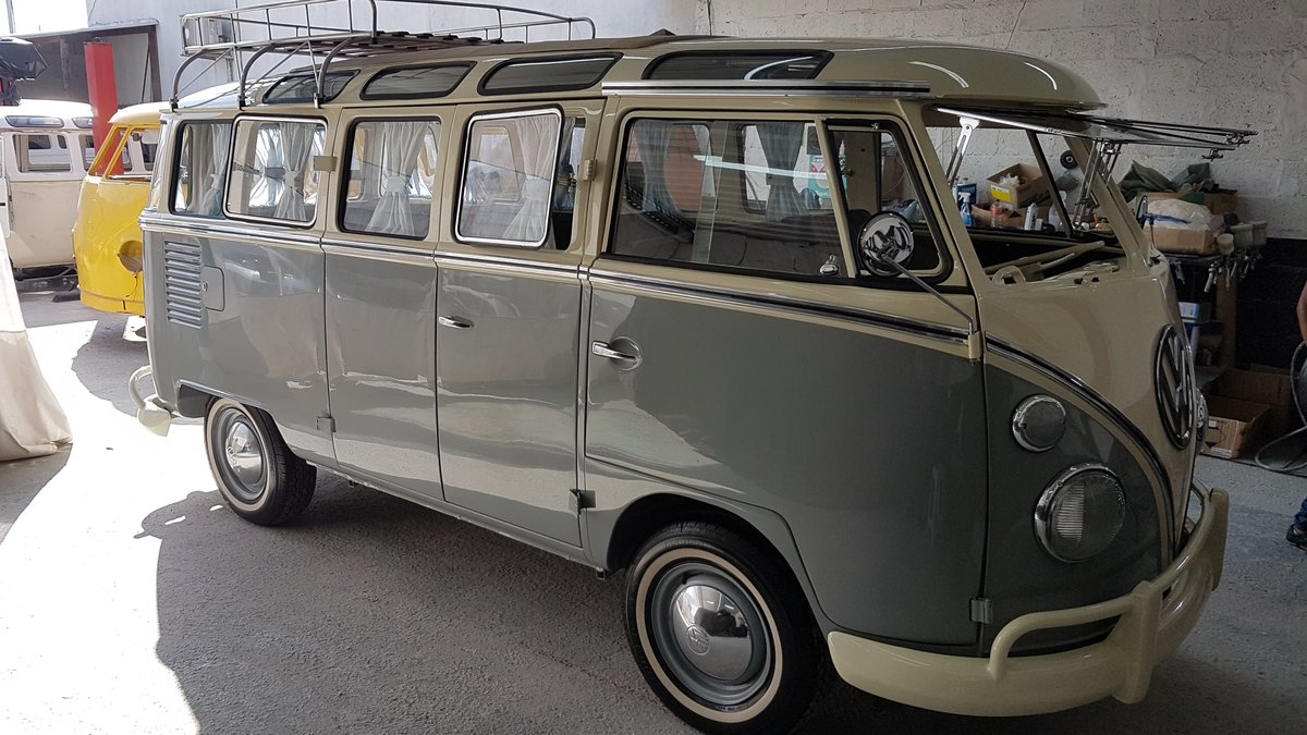 Volkswagen Splitscreen 23Window LHD 1968 Samba Rep For Sale (picture 3 of 5)