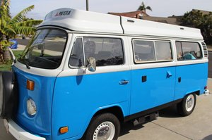 VW T2 Baywindow Campervan 1977 (Riviera) For Sale