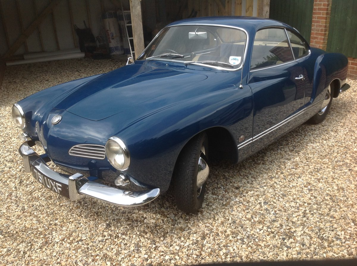 1960 Volkswagen karmann ghia type 14 For Sale (picture 4 of 6)