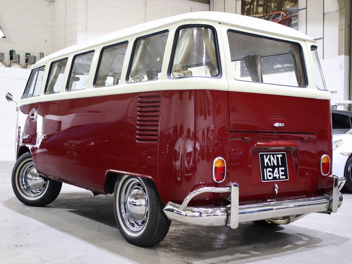 1967 E Reg Volkswagen T2 1600CC Split Screen Camper Van For Sale (picture 2 of 6)
