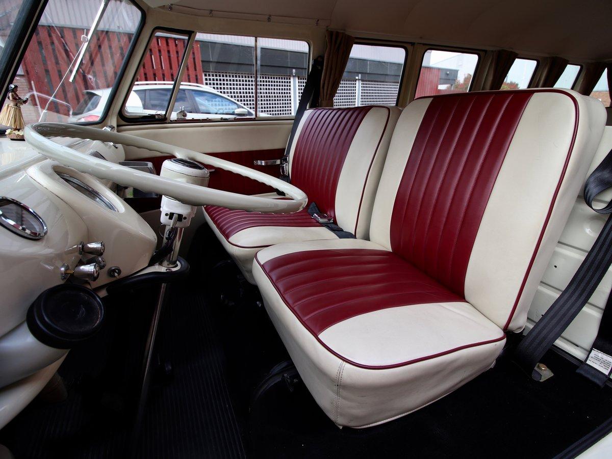 1967 E Reg Volkswagen T2 1600CC Split Screen Camper Van For Sale (picture 4 of 6)