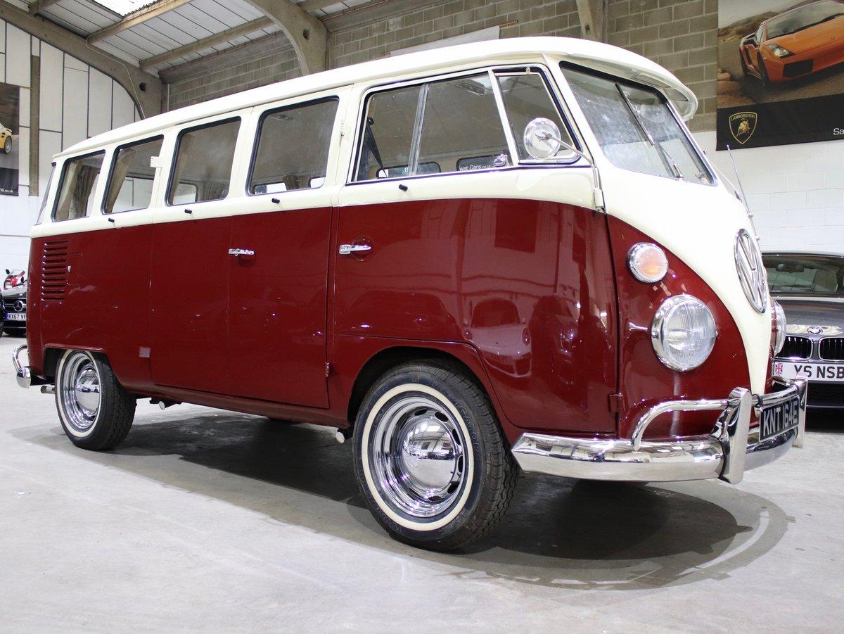 1967 E Reg Volkswagen T2 1600CC Split Screen Camper Van For Sale (picture 6 of 6)
