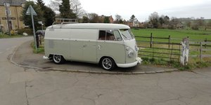 1964 VW camper TWIN BARN DOORS - super rare