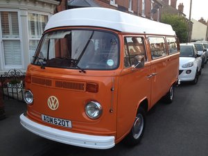 VW Bay Window 1979 Devon Sundowner